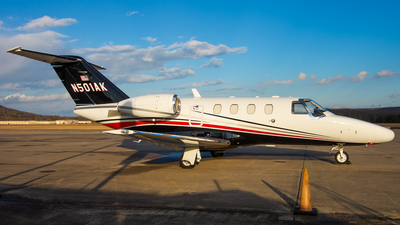 N501AK - Cessna 525 CitationJet 1 Plus - Private