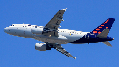 A picture of OOSSA - Airbus A319111 - Brussels Airlines - © Pampillonia Francesco - Plane Spotters Bari