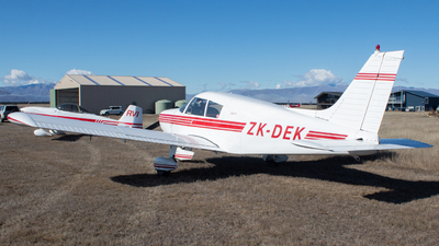 ZK-DEK - Piper PA-28-140 Cherokee E - Private
