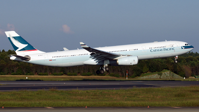 B-HLT - Airbus A330-343 - Cathay Pacific Airways