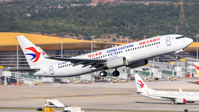 A picture of B5527 - Boeing 73789P - China Eastern Airlines - © Yan Shuai