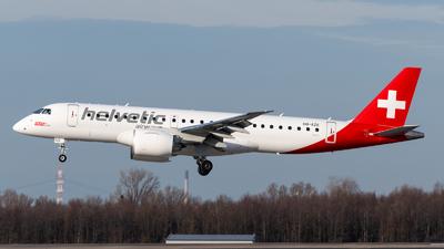 A picture of HBAZE - Embraer E190E2 - Helvetic Airways - © Chris de Breun
