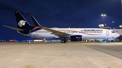 A picture of N957AM - Boeing 737852 - Aeromexico - © Craig L Baldwin