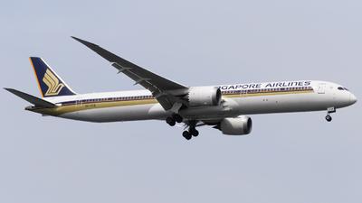 A picture of 9VSCB - Boeing 78710 Dreamliner - Singapore Airlines - © Mohamed Rizwan