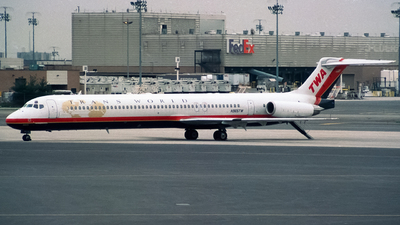 N965TW - McDonnell Douglas MD-83 - Trans World Airlines (TWA)