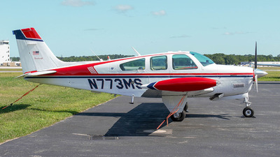 N773MS - Beechcraft F33A Bonanza - Private