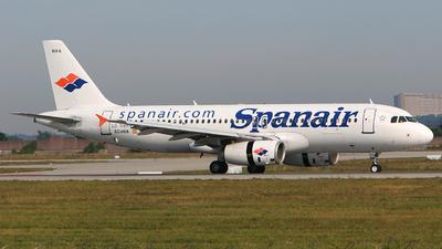 EC-HXA - Airbus A320-232 - Spanair