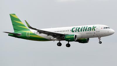 PK-GQD - Airbus A320-214 - Citilink