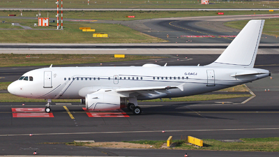 G-OACJ - Airbus A319-133(CJ) - TAG Aviation