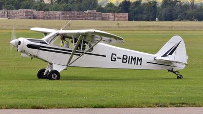 A picture of GBIMM - Piper L21B Super Cub - [183868] - © Arjun Sarup