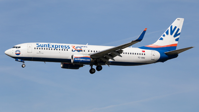 A picture of TCSNV - Boeing 73786J - SunExpress - © Marvin Knitl