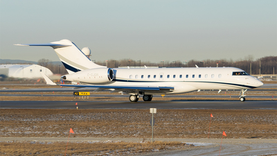 C-GJDR - Bombardier BD-700-1A10 Global Express - Private