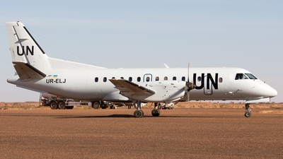UR-ELJ - Saab 340B - United Nations (Air Urga)