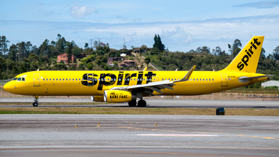 N661NK - Airbus A321-231 - Spirit Airlines