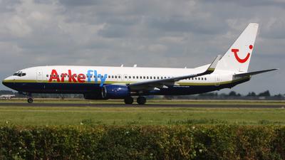 N738MA - Boeing 737-8Q8 - ArkeFly