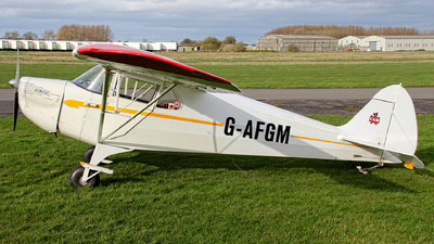 A picture of GAFGM - Piper J4A Cub Coupe - [4943] - © Jez-UK