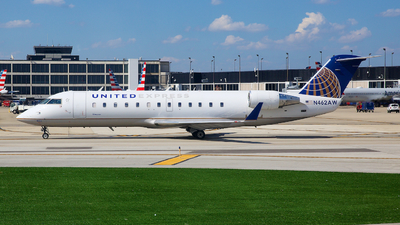 N462AW - Bombardier CRJ-200LR - United Express (Air Wisconsin)