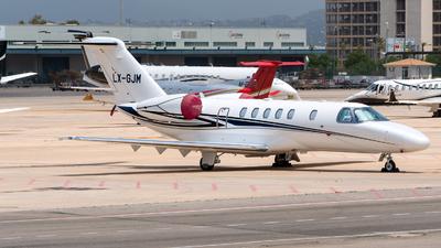 LX-GJM - Cessna 525C CitationJet 4 - Private