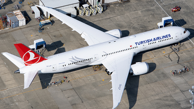 A picture of TCLLP - Boeing 7879 Dreamliner - Turkish Airlines - © Jason Chen