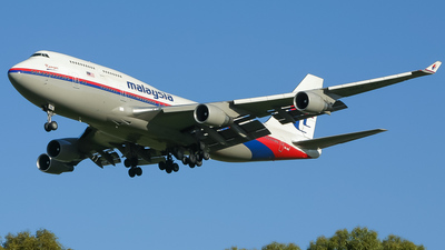 9M-MPE - Boeing 747-4H6 - Malaysia Airlines