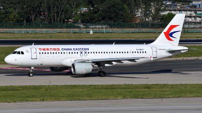 A picture of B6803 - Airbus A320214 - China Eastern Airlines - © dxtrx