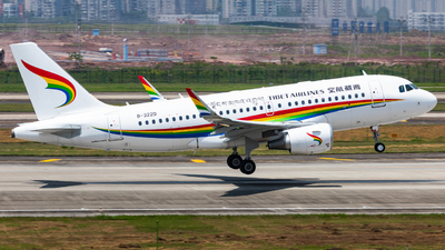 B-322D - Airbus A319-115 - Tibet Airlines