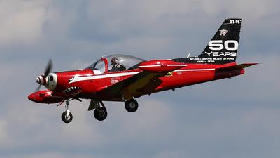 ST-16 - SIAI-Marchetti SF260M+ - Belgium - Air Force