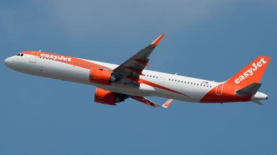 OE-ISD - Airbus A321-251NX - easyJet Europe