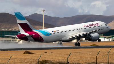 A picture of DABHF - Airbus A320214 - Eurowings - © aaron_gcrr