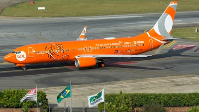 A picture of PRGTM - Boeing 7378EH - GOL Linhas Aereas - © Delta Papa