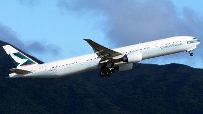 B-KPH - Boeing 777-367ER - Cathay Pacific Airways