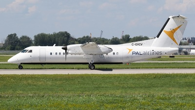 A picture of CGYCV - De Havilland Canada Dash 8300 - PAL Airlines - © Ryo Mizushima
