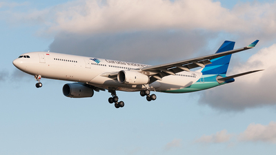 F-WWYS - Airbus A330-343 - Garuda Indonesia