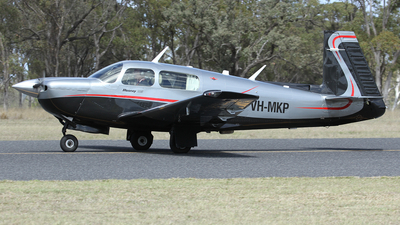 A picture of VHMKP - Mooney M20J - [243072] - © Simon Coates
