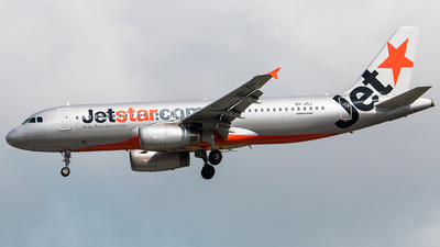 9V-JSJ - Airbus A320-232 - Jetstar Asia Airways