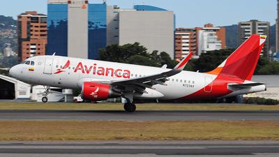 A picture of N723AV - Airbus A319115 - Avianca - © Brian Boche