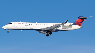 A picture of N340CA - Mitsubishi CRJ701ER - Delta Air Lines - © Evan Dougherty