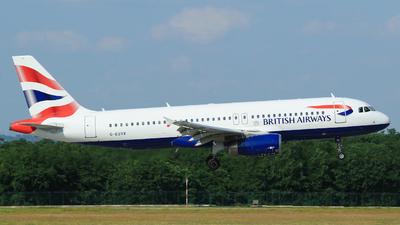 G-EUYK - Airbus A320-232 - British Airways