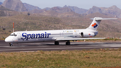 EC-HHF - McDonnell Douglas MD-82 - Spanair