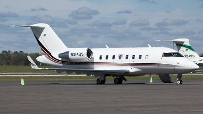 N214QS - Bombardier CL-600-2B16 Challenger 650 - NetJets Aviation
