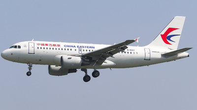 A picture of B6217 - Airbus A319115 - China Eastern Airlines - © AGUIJUN-Lei