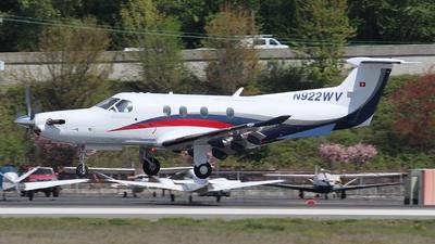 N922WV - Pilatus PC-12/47E - Private