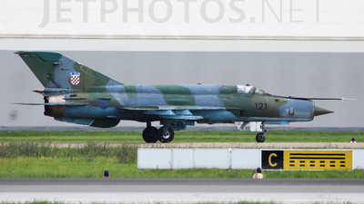 121 - Mikoyan-Gurevich MiG-21bis Fishbed L - Croatia - Air Force