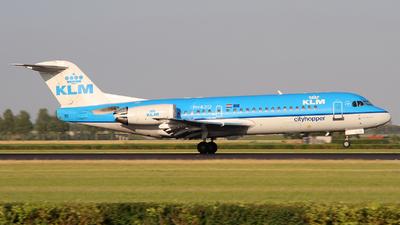 PH-KZO - Fokker 70 - KLM Cityhopper
