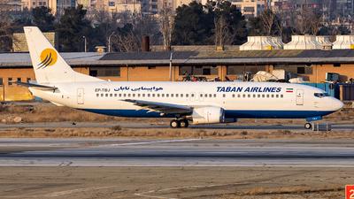 EP-TBJ - Boeing 737-4Q8 - Taban Air