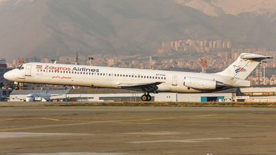 EP-ZAQ - McDonnell Douglas MD-83 - Zagros Airlines