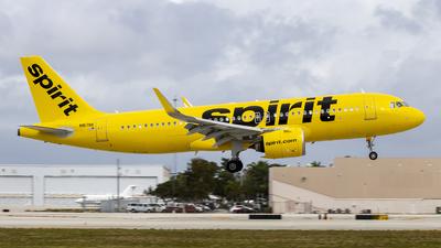 N917NK - Airbus A320-271N - Spirit Airlines