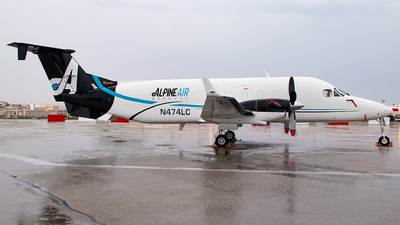 N474LC - Beech 1900D - Alpine Air