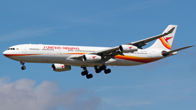 PZ-TCR - Airbus A340-311 - Surinam Airways