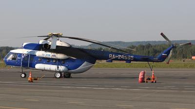 RA-24595 - Mil Mi-8T - Gazpromavia